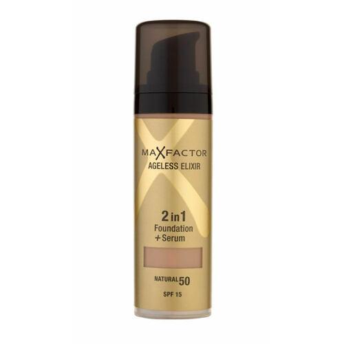 Max Factor Ageless Elixir 2v1 Foundation + Serum SPF15 makeup 30 ml pro ženy