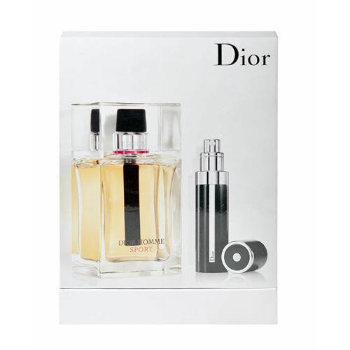 Christian Dior Dior Homme Sport EDT EDT 100 ml + EDT naplnitelný travel spray 7,5 ml pro muže