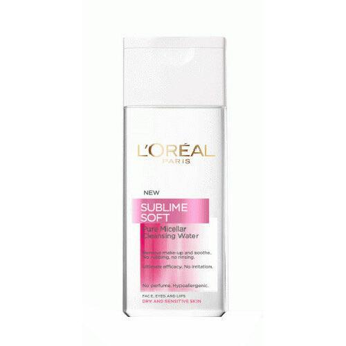 L´Oréal Paris Sublime Soft Purifying micelární voda 200 ml pro ženy
