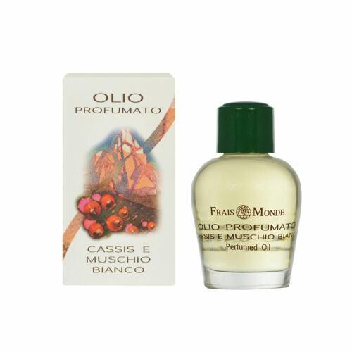 Frais Monde Cassis And White Musk parfémovaný olej 12 ml pro ženy