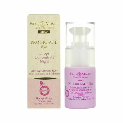 Frais Monde Pro Bio-Age Eye Drops Night Concentrate oční gel 15 ml pro ženy