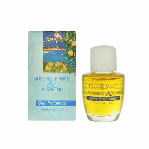 Frais Monde White Musk And Grapefruit parfémovaný olej 12 ml pro ženy