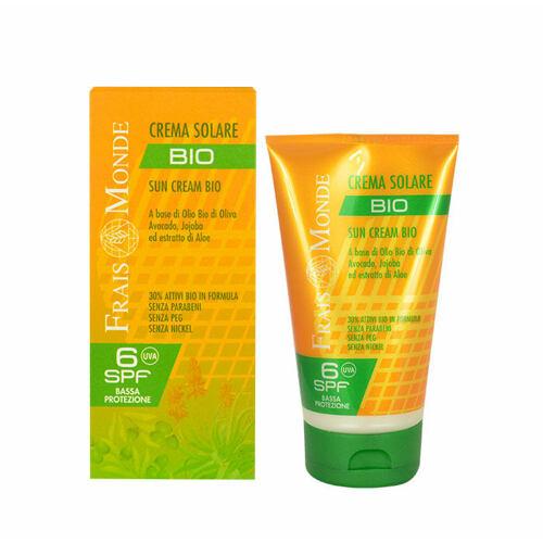 Frais Monde Sun Cream SPF6 opalovací přípravek na tělo 150 ml pro ženy