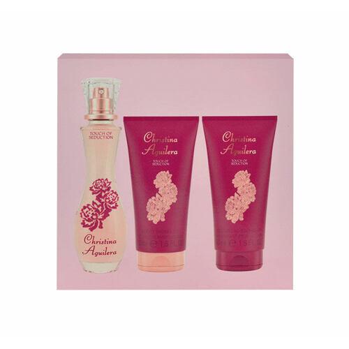 Christina Aguilera Touch of Seduction EDP EDP 30 ml + sprchový gel 50 ml pro ženy
