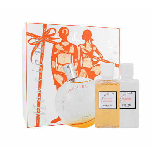 Hermes Eau Des Merveilles EDT EDT 100ml + tělové mléko 40 ml + sprchový gel 40 ml pro ženy