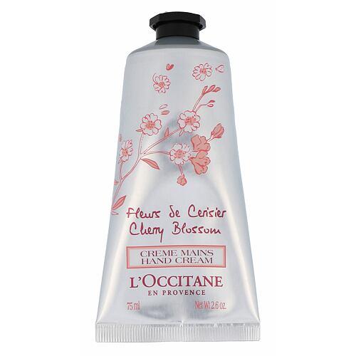 L´Occitane Cherry Blossom krém na ruce 75 ml Tester pro ženy