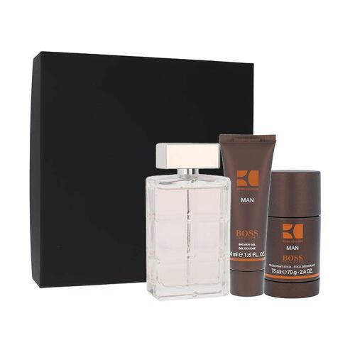 Hugo Boss Boss Orange Man EDT EDT 100 ml + deostick 75 ml + sprchový gel 50 ml pro muže