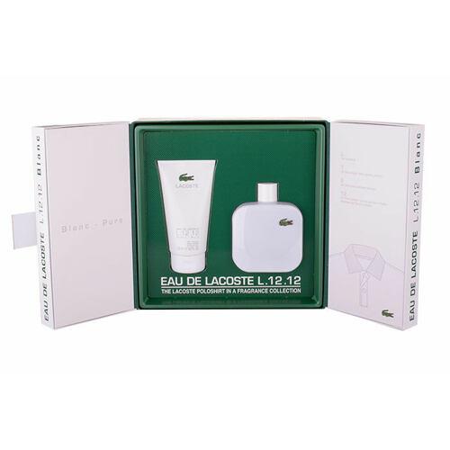 Lacoste Eau De Lacoste L.12.12 Blanc EDT EDT 175 ml + sprchový gel 150 ml pro muže