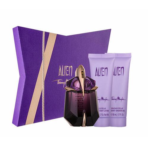 Thierry Mugler Alien EDP EDP 30 ml + sprchový gel 50 ml + tělové mléko 50 ml Naplnitelný pro ženy