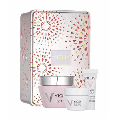 Vichy Idéalia Smoothing Cream denní pleťový krém denní pleťová péče 50 ml + noční pleťová péče 15 ml + pleťové sérum 3 ml pro ženy