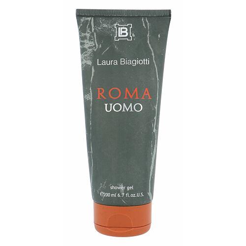 Laura Biagiotti Roma Uomo sprchový gel 200 ml pro muže
