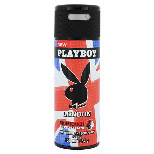 Playboy London For Him deodorant 150 ml pro muže