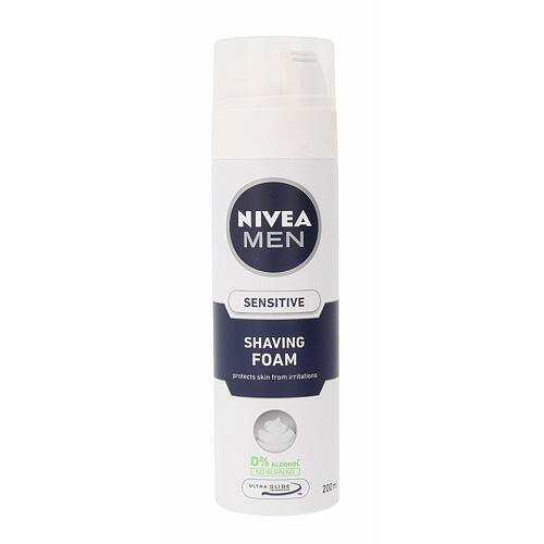 Nivea Men Sensitive pěna na holení 200 ml pro muže