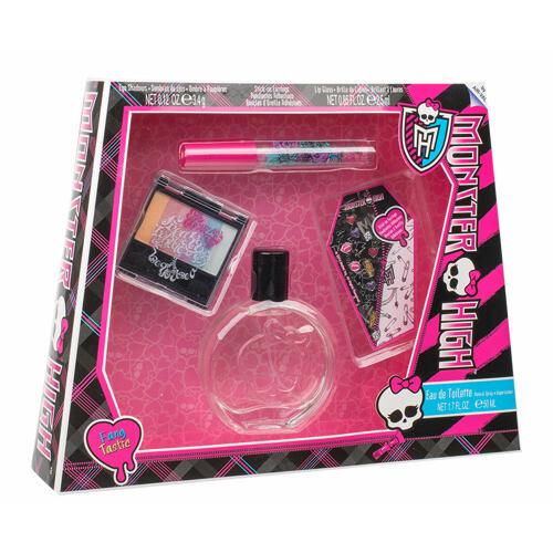 Monster High Monster High EDT EDT 50 ml + oční stíny 3,4 g + lesk na rty 2,5 ml + samolepky na náušnice Unisex