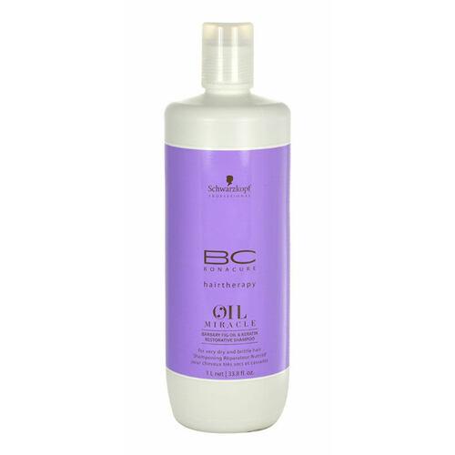 Schwarzkopf BC Bonacure Oil Miracle Barbary Fig & Keratin šampon 1000 ml Poškozený flakon pro ženy