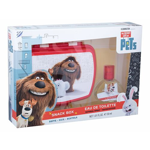 Universal The Secret Life Of Pets EDT EDT 30 ml + svačinový box Unisex