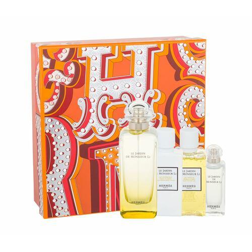 Hermes Le Jardin de Monsieur Li EDT EDT 100 ml + tělové mléko 40 ml + sprchový gel 40 ml + EDT 7,5 ml Unisex