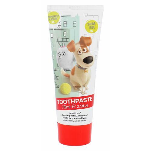 Universal The Secret Life Of Pets Strawberry zubní pasta 75 ml Unisex