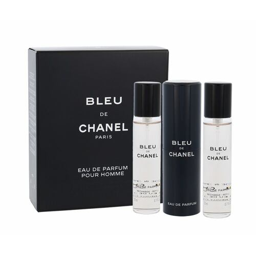Chanel Bleu de Chanel EDP 3x20ml ml Twist and Spray pro muže