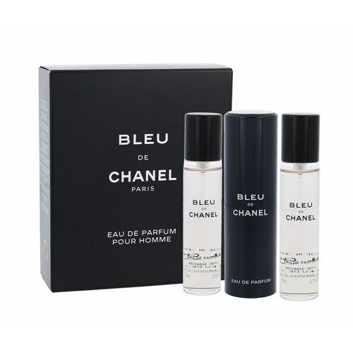 Chanel Bleu de Chanel EDP 3x20 ml Twist and Spray pro muže