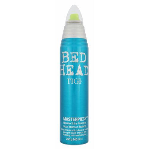 Tigi Bed Head Masterpiece lak na vlasy 340 ml Poškozený flakon pro ženy