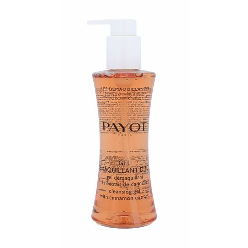 Payot Les Démaquillantes Cleasing Gel With Cinnamon Extract čisticí gel 200 ml pro ženy