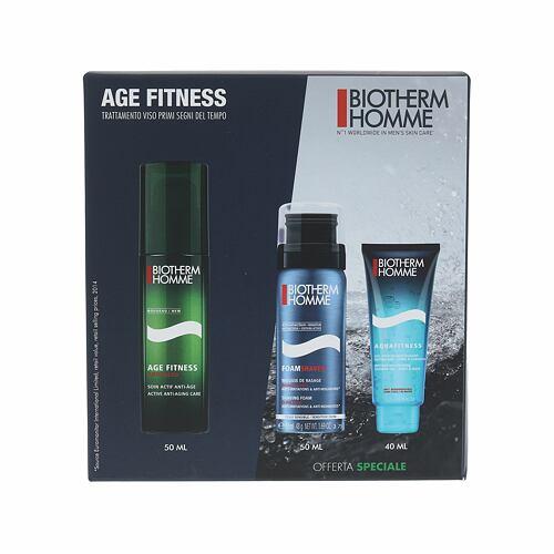 Biotherm Homme Age Fitness Advanced denní pleťový krém dárková kazeta pro muže