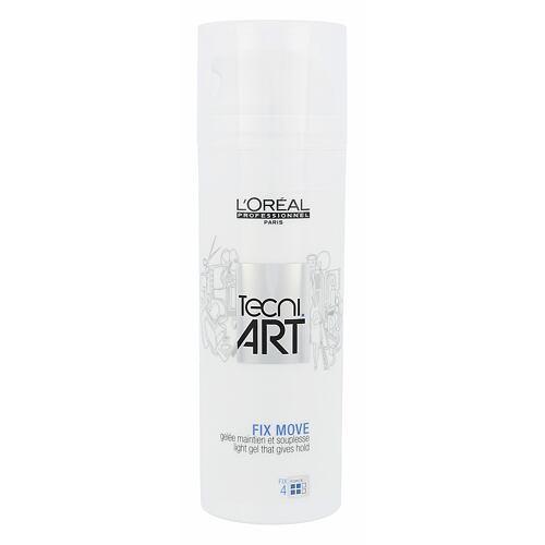 L´Oréal Professionnel Tecni.Art Fix Move gel na vlasy 150 ml pro ženy