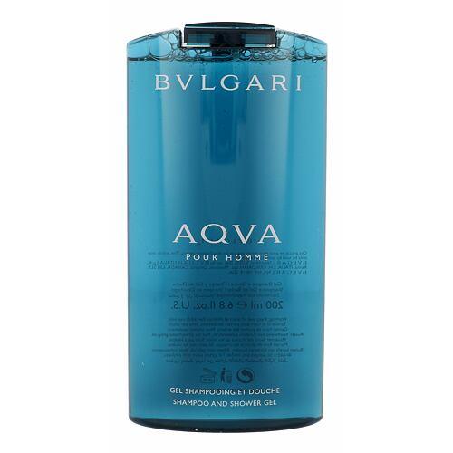 Bvlgari Aqva Pour Homme sprchový gel 200 ml pro muže