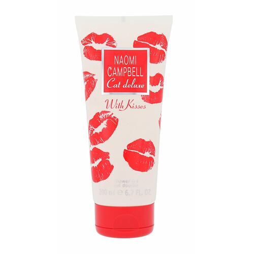 Naomi Campbell Cat Deluxe With Kisses sprchový gel 200 ml pro ženy