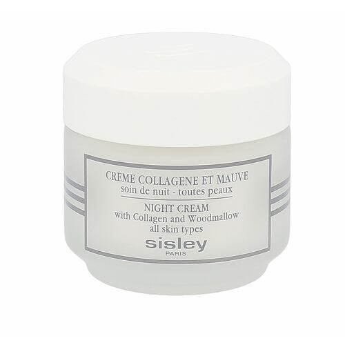 Sisley Night Cream With Collagen And Woodmallow noční pleťový krém 50 ml pro ženy