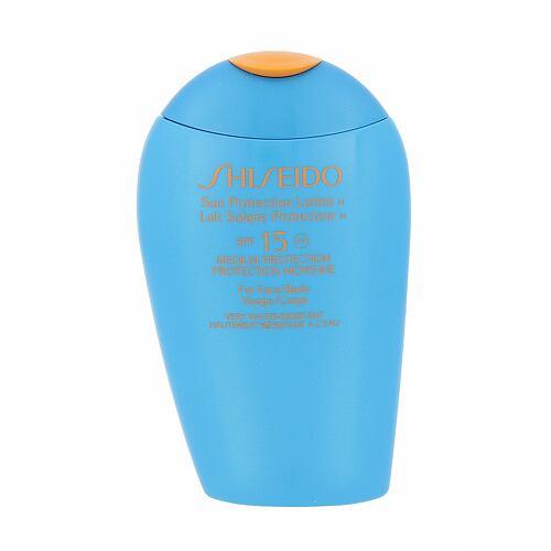 Shiseido 15 Sun Protection Lotion opalovací přípravek na tělo 150 ml pro ženy