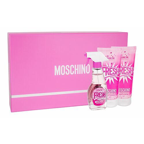 Moschino Fresh Couture Pink EDT EDT 50ml + tělové mléko 100ml + sprchový gel 100ml pro ženy