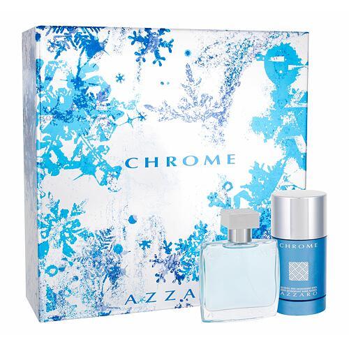 Azzaro Chrome EDT EDT 50 ml + deostick 75 ml pro muže