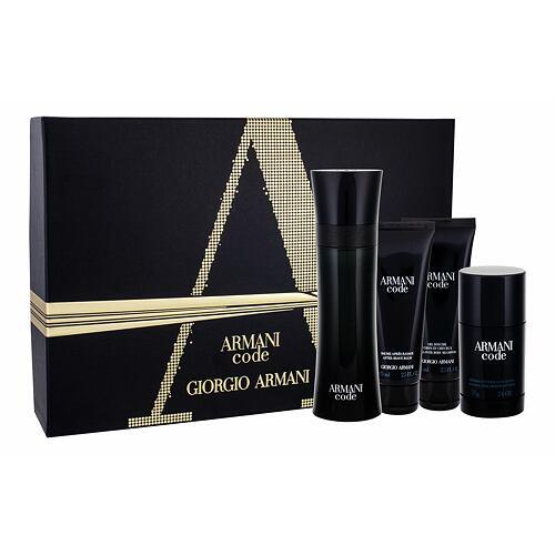 Giorgio Armani Armani Code Pour Homme EDT EDT 125 ml + balzám po holení 75 ml + sprchový gel 75 ml + deostick 75 ml pro muže