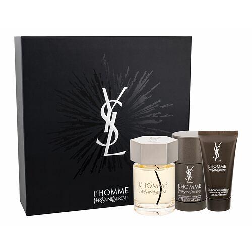 Yves Saint Laurent L´Homme EDT EDT 100 ml + sprchový gel 50 ml + deostick 75 ml pro muže