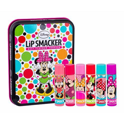 Lip Smacker Disney Minnie Mouse balzám na rty balzám na rty 6 x 4 g + plechová krabička Unisex