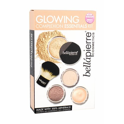 bellápierre Glowing Complexion Essentials makeup dárková kazeta pro ženy
