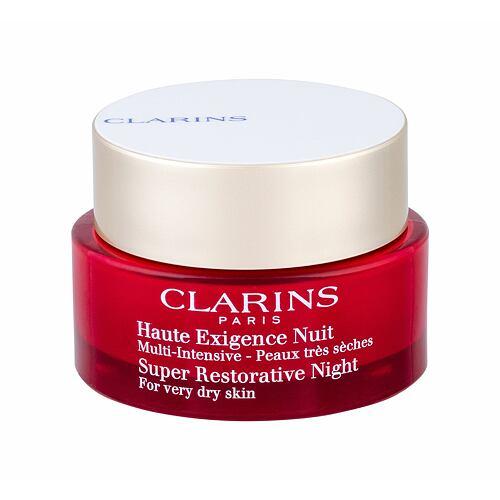 Clarins Super Restorative Night noční pleťový krém 50 ml Tester pro ženy