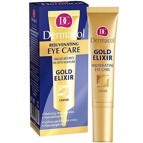 Dermacol Gold Elixir Rejuvenating Eye Care oční krém 15 ml pro ženy