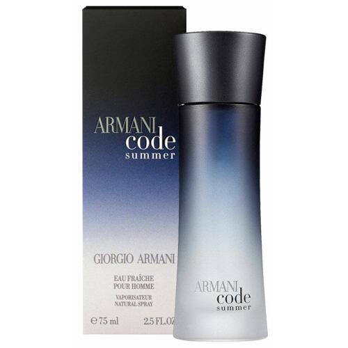 Giorgio Armani Armani Code Pour Homme Summer 2010 eau de fraiche 75 ml Tester pro muže