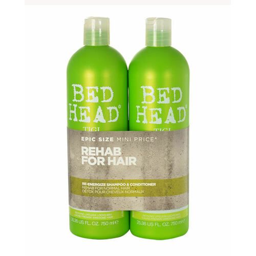 Tigi Bed Head Re-Energize šampon šampon 750 ml + kondicionér 750 ml pro ženy