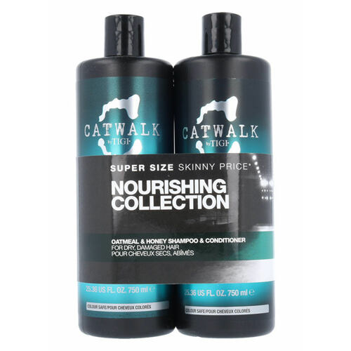 Tigi Catwalk Oatmeal & Honey šampon šampon 750 ml + kondicionér 750 ml pro ženy