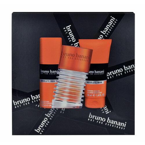 Bruno Banani Absolute Man EDT EDT 50 ml + sprchový gel 50 ml + deodorant 50 ml pro muže