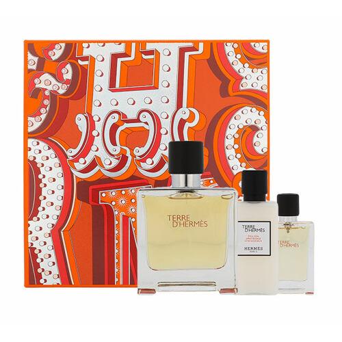 Hermes Terre D´Hermes parfém parfém 75 ml + balzám po holení 40 ml + parfém 12,5 ml pro muže
