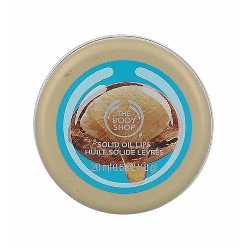 The Body Shop Wild Argan Oil balzám na rty 20 ml pro ženy