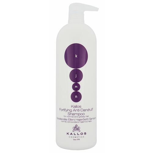 Kallos Cosmetics KJMN Fortifying Anti-Dandruff šampon 1000 ml pro ženy