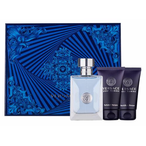 Versace Pour Homme EDT EDT 50ml + sprchový gel 50 ml + šampon 50 ml pro muže