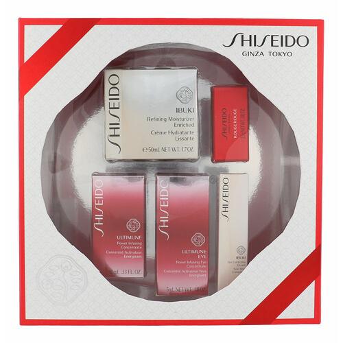 Shiseido Ibuki Refining Moisturizer Enriched denní pleťový krém dárková kazeta pro ženy