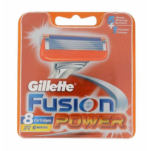 Gillette Fusion Power náhradní břit 8 ks pro muže